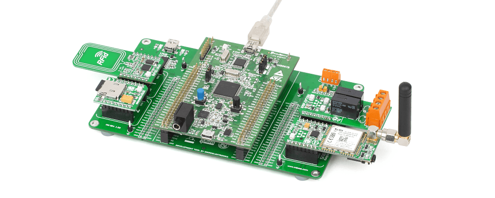 STM32F4 Discovery Shield